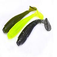 6 db Puha csali Mamac za ribe Worms g/Uncia mm hüvelyk,Puha műanyag Tengeri halászat Folyóvíz horgászat