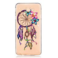 hoesje Voor Samsung Galaxy J7 Prime J5 Prime Transparant Reliëfopdruk Patroon Achterkantje Dromenvanger Zacht TPU voor J7 (2016) J7 Prime