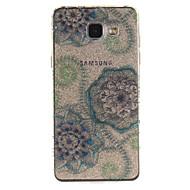 preiswerte Handyhüllen-Hülle Für Samsung Galaxy IMD / Transparent / Muster Rückseite Blume Weich TPU für A5(2016) / A3(2016) / A5