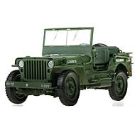 Oyuncak arabalar Oyuncaklar Askeri Araç Oyuncaklar İçeri Çekilebilir İki Tekerlekli Araba Metal Klasik & Zamansız Şık & Modern Parçalar
