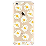 Недорогие Кейсы для iPhone 8 Plus-Кейс для Назначение Apple iPhone 8 iPhone 8 Plus iPhone 6 iPhone 7 Plus iPhone 7 Ультратонкий С узором Кейс на заднюю панель Цветы Мягкий