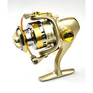 お買い得  釣り用アクセサリー-スピニングリール 5.2:1 13 ボールベアリング 交換可能 海釣り 川釣り-DC150
