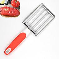 billige Køkkenredskaber-1 stk Skæreredskab For til grønsager til æg For Køkkenredskaber Plastik Rustfrit stål Høj kvalitet Kreativ Køkkengadget