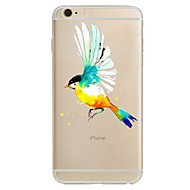 Mert Ultra-vékeny Minta Case Hátlap Case Állat Puha TPU mert Apple iPhone 7 Plus iPhone 7 iPhone 6s Plus/6 Plus iPhone 6s/6