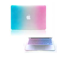 お買い得  MacBook 用ケース/バッグ/スリーブ-MacBook ケース カラーグラデーション プラスチック のために MacBook Pro Retinaディスプレイ15インチ / MacBook Pro Retinaディスプレイ13インチ