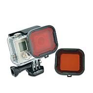 Dive Filtr Wodoodporne Wygodny, Na-Action Camera,Gopro 4 Gopro 3+ Nurkowanie