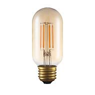 お買い得  -GMY® 1個 3.5 W 300 lm フィラメントタイプLED電球 T 4 LEDビーズ COB 調光可能 / 装飾用 アンバー 110-130 V / 1個