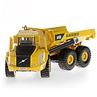 お買い得  -KDW ダンプトラック トラック&工事現場おもちゃ 自動車おもちゃ 引き込み式 メタリック プラスチック ABS 1 pcs 子供用 男の子 女の子 おもちゃ ギフト