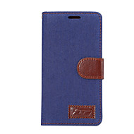 お買い得  携帯電話ケース-ケース 用途 ソニーZ5 Sony Xperia Z3 ソニーのXperia Z2 Sony ソニーのXperia Xパフォーマンス カードホルダー スタンド付き フリップ フルボディーケース 純色 ハード PUレザー のために Sony Xperia Z2 Sony