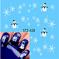 1pcs Nagelkunst sticker Watertransfer decals make-up Cosmetische Nagelkunst ontwerp