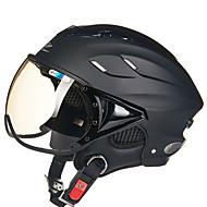 お買い得  -REUS ハーフヘルメット 大人 男女兼用 オートバイのヘルメット 曇り止め / 高通気性