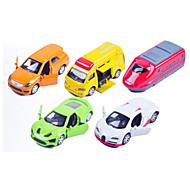 Vehicle speelsets Speelgoedauto's Racewagen Politieauto Speeltjes Automatisch Metaallegering Metaal Klassiek & Tijdloos Chic & Modern 1
