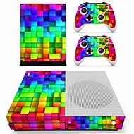 お買い得  -B-SKIN XBOX ONE  S PS / 2 ステッカー 用途 Xbox One S 、 アイデアジュェリー ステッカー PVC 1 pcs 単位