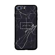 Назначение iPhone X iPhone 8 Чехлы панели С узором Задняя крышка Кейс для Мрамор Твердый Акриловое волокно для Apple iPhone X iPhone 8