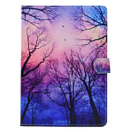 cheap iPad  Cases / Covers-Case For Apple iPad 4/3/2 iPad Air 2 iPad Air with Stand Pattern Full Body Cases Tree Hard PU Leather for iPad 4/3/2 iPad Air iPad Air 2