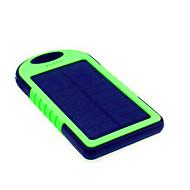 Недорогие Портативные аккумуляторы-5000 mAh Назначение Внешняя батарея Power Bank 5 V Назначение 1 A / # Назначение Зарядное устройство Подсветка / Зарядка от солнца / Очень тонкий LED