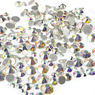 400-500pcs/bag Εργαλείο νυχιών Κοσμήματα Νυχιών Στρας Στυλ κρυστάλλου / σκουλαρίκι / Στρας / Κρύσταλλο / Στρας τέχνη νυχιών Μανικιούρ Πεντικιούρ Καθημερινά / Επαγγελματική / Κοσμήματα νυχιών