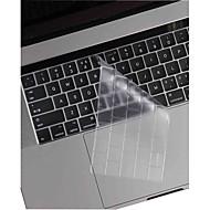 billiga Dagliga erbjudanden-xskn® ultratunna och transparent TPU tangentbord hud och pekfältet skydd för 2016 nyaste MacBook Pro 13,3 / 15,4 med touch bar näthinnan