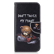 Etui Käyttötarkoitus Samsung Galaxy A5(2017) A3(2017) Lomapkko Korttikotelo Tuella Flip Kokonaan peittävä Eläin Kova PU-nahka varten A3