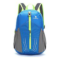 20 L 백패킹 배낭 배낭 캠핑 & 하이킹 여행 야외 프랙티스 내장 주전자 가방 착용할 수 있는 콤팩트 통기성 블루 카모플라주 나이론 CAMEL