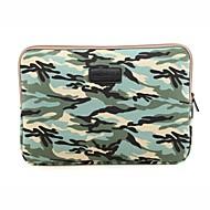 billige MacBook etuier & MacBook tasker & MacBook covers-til touch bar macbook pro 13,3 / 15,4 MacBook Air 11,6 / 13,3 MacBook Pro 13,3 / 15,4 camouflage design stødsikker laptop sleeve taske