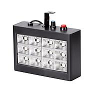 저렴한 -U'King 15W LED 무대 조명 조절가능 쉬운 설치 음향 작동 그린 블루 레드 AC110-240