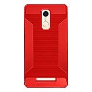 Mert Ütésálló Case Hátlap Case Egyszínű Puha TPU mert Xiaomi Xiaomi Redmi 3 Xiaomi Redmi Note 3