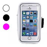 abordables Súperoferta de Precios Locos-Funda Para Apple iPhone X / iPhone 8 / iPhone 8 Plus Antipolvo / Resistente al Agua / con Ventana Brazalete Un Color Suave Textil para iPhone X / iPhone 8 Plus / iPhone 8