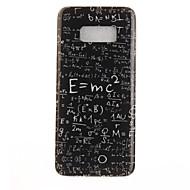 voordelige Galaxy S7 Hoesjes / covers-hoesje Voor Samsung Galaxy S8 Plus S8 IMD Patroon Achterkantje Woord / tekst Zacht TPU voor S8 S8 Plus S7 edge S7 S6 edge S6