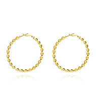 Women's Stud Earrings Jewelry Basic Gold Plated Jewelry Jewelry For Wedding Party Daily Casual