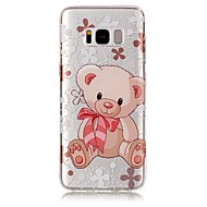 For Samsung Galaxy S8 Plus S8 Case Cover Bear Pattern High Permeability TPU Material IMD Craft Phone Case S7 S6 (Edge) S7 S6 S5