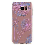 Varten Läpinäkyvä Kuvio Etui Takakuori Etui Voikukka Pehmeä TPU varten Samsung S8 S7 edge S7 S6 edge S6 S5 Mini S5