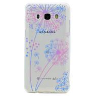 billige Etuier / deksler til Galaxy J-modellene-Etui Til Samsung Galaxy J7 Prime J5 Prime Transparent Mønster Bagcover Mælkebøtte Blødt TPU for J7 Prime J5 Prime J5 (2016) J3 Prime J3