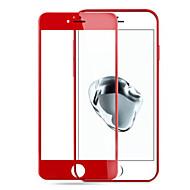 Недорогие Защитные плёнки для экрана iPhone-Защитная плёнка для экрана Apple для iPhone 7 Закаленное стекло 1 ед. Защитная пленка для экрана 2.5D закругленные углы Уровень защиты 9H