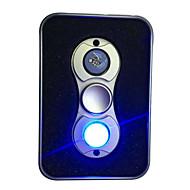 Fidget Spinners Przędzarka ręczna Zabawki Dwa Spinner Aluminium EDCLampka LED Stres i niepokój Relief Zabawki biurkowe Zwalnia ADD, ADHD,