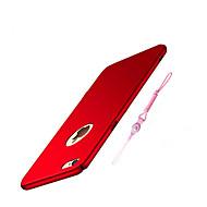 Недорогие Кейсы для iPhone 8-Кейс для Назначение Apple iPhone 8 / iPhone 8 Plus Ультратонкий Кейс на заднюю панель Однотонный Твердый ПК для iPhone 8 Pluss / iPhone 8 / iPhone 7 Plus