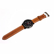Недорогие Часы для Samsung-Ремешок для часов для Gear S3 Frontier Gear S3 Classic Samsung Galaxy Классическая застежка Современная застежка Нержавеющая сталь Кожа