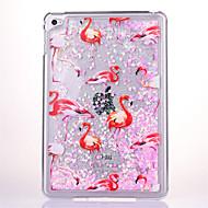 voordelige iPad-hoesjes/covers-Voor Stromende vloeistof Transparant hoesje Achterkantje hoesje Glitterglans Hard PC voor Apple iPad Mini 4