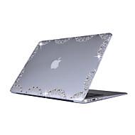 お買い得  MacBook 用ケース/バッグ/スリーブ-MacBook ケース のために ウェーブ プラスチック MacBook Air 13インチ MacBook Pro 13インチ MacBook Air 11インチ MacBook Pro Retinaディスプレイ13インチ
