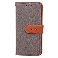 Для Кошелек Бумажник для карт со стендом Флип Рельефный С узором Кейс для Чехол Кейс для Плитка Твердый Искусственная кожа для Samsung