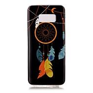 "Для Сияние в темноте IMD С узором Кейс для Задняя крышка Кейс для Рисунок ""Ловец снов"" Мягкий TPU для SamsungS8 S8 Plus S7 edge S7 S6"