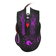cheap Mice & Keyboards-HXSJ Wired Gaming Mouse DPI Adjustable Backlit 1200/1600/2400/3200/5500