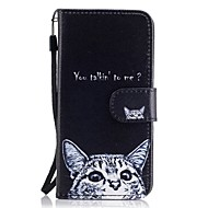 tok Για Samsung Galaxy A5(2017) A3(2017) Πορτοφόλι Θήκη καρτών με βάση στήριξης Ανοιγόμενη Με σχέδια Πλήρης κάλυψη Γάτα Σκληρή PU Δέρμα