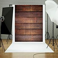 5x7ft puinen seinä lattiaan valokuvaus tausta studio rekvisiitta sininen board teema uusia