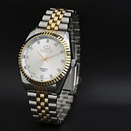 CHENXI® Muškarci Sat uz haljinu Kvarc Japanski kvarc / Nehrđajući čelik Grupa Vintage Neformalno Cool Srebro Zlatna