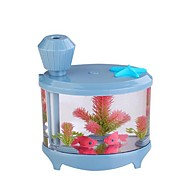 お買い得  加湿器-水槽加湿器ミニ家庭用空気加湿清浄機のUSB加湿器超音波小さな夜のランプ