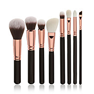 cheap Makeup & Nail Care-8pcs Professional Makeup Brushes Makeup Brush Set / Contour Brush / Foundation Brush Synthetic Hair Professional / Full Coverage Wood Eye
