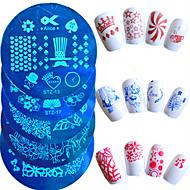 abordables Estampados de Uñas-# herramientas de dibujo y accesorios accesorios de pintura herramientas y accesorios placa de estampado herramienta de estampado de uñas