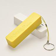 Недорогие Портативные аккумуляторы-2600mAhPower Bank Внешняя батарея Защита от влаги Очень тонкий 2600 2000 Защита от влаги Очень тонкий