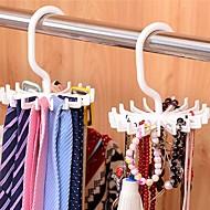 voordelige Opbergen en Organisatie-verstelbare 20-haaks roterende riem rek sjaal organizer heren stropdas hanger houdt